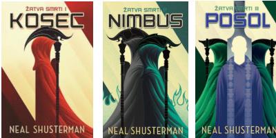 Neal Shusterman – Kosec, Nimbus, Posol recenzia