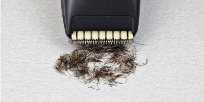 ako oholit bradu