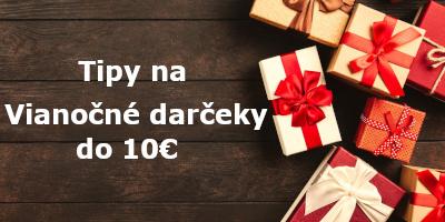 Tipy na lacné vianočné darčeky do 10 €